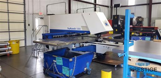 TRUMPF TruPunch 1000 19 Ton CNC Punch & Contouring Machine-31520a