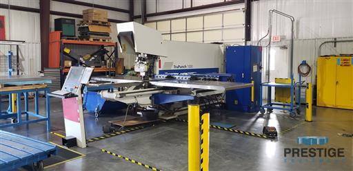 TRUMPF TruPunch 1000 19 Ton CNC Punch & Contouring Machine-31520b