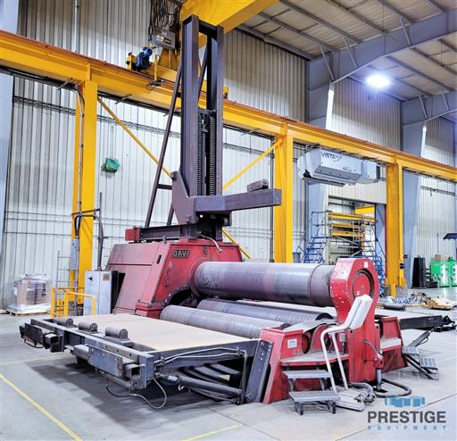 DAVI-MCB-3070-WT-3.5-x-10-CNC-4-Roll-Hydraulic-Plate-Roll