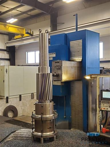 TOS FUQ 150 WR/9 CNC Floor Type Horizontal Boring Mill -31534b