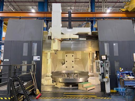 Giddings-&-Lewis-MAG-VTC-3000-118-CNC-Vertical-Boring-Lathe-w-Milling