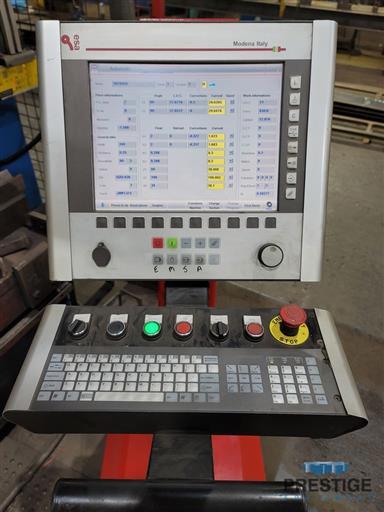 Dener Elite XL 1000-60 1000 Ton x 20' 8-Axis CNC Press Brake-31538c