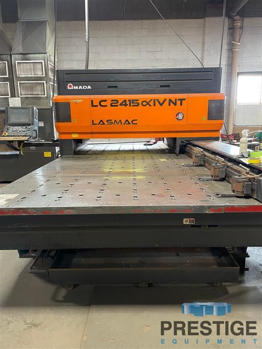 AMADA Pulsar LC2415AIV-NT 4KW CO2 Laser Cutting System