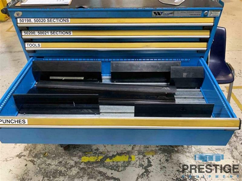 Finn Power B100-3100 E-Brake 100 Ton 6-Axis CNC Electric Servo Press Brake-31650h