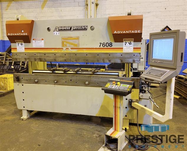 Accurpress-7608-Advantage-60-Ton-x-8-3-Axis-CNC-Hydraulic-Press-Brake-With-ETS3000