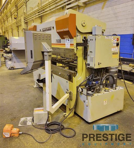 Accurpress 7608 Advantage  60 Ton x 8'  3-Axis CNC Hydraulic Press Brake With ETS3000-31651c