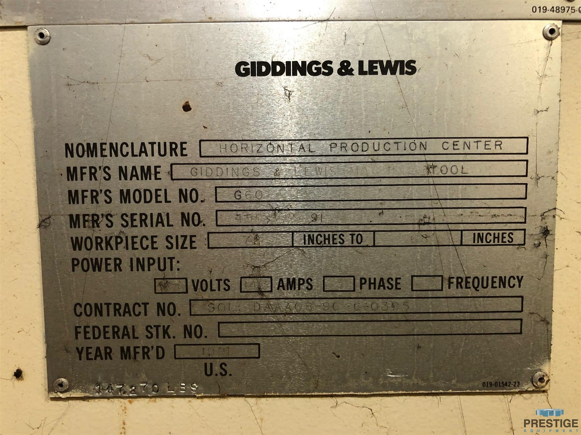 Giddings & Lewis G60-TX 6