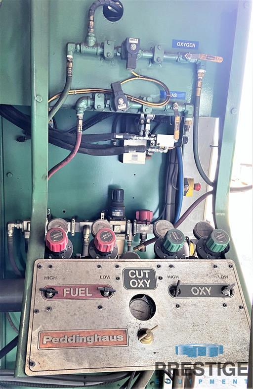 Peddinghaus HSFDB 2500/B Plate Processing System, Plasma, Drill & Oxy-31660f