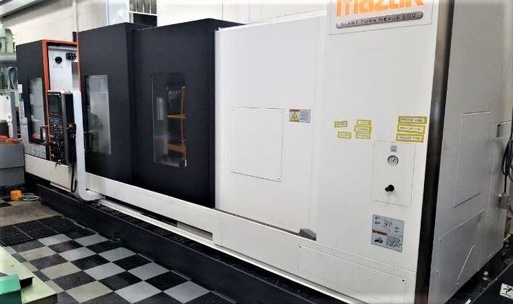Mazak-Slant-Turn-500-CNC-Slant-Bed-Lathe