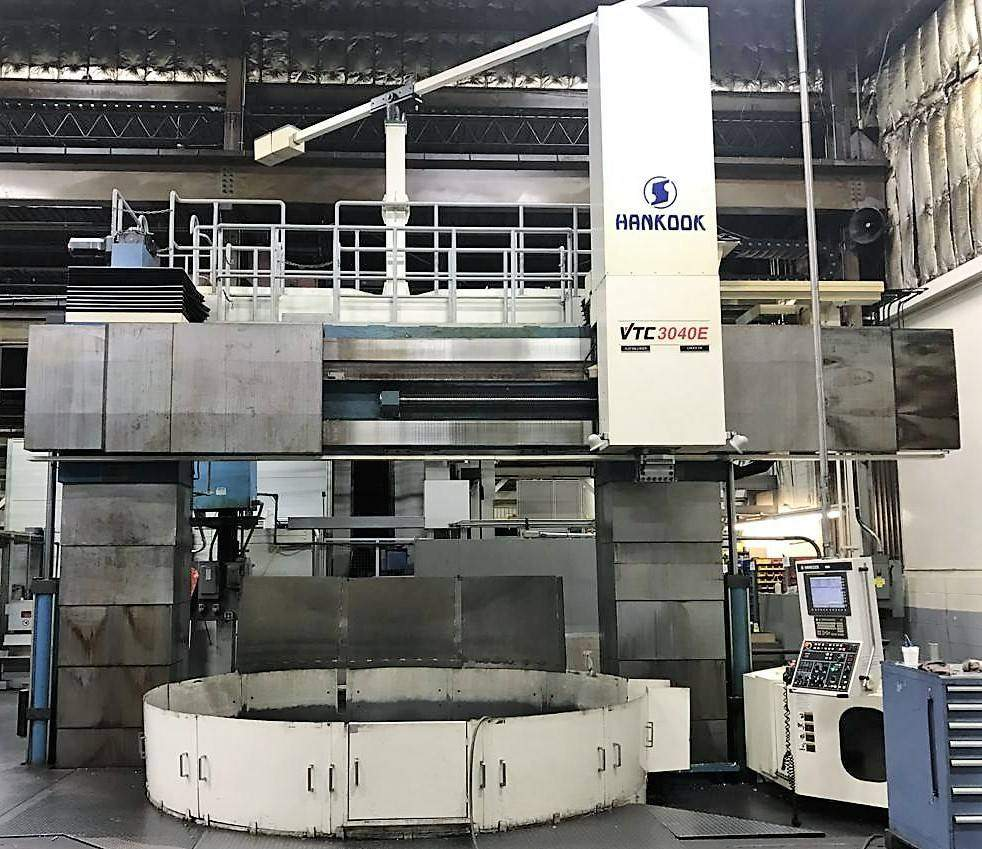 Hankook-3040E-118.11-CNC-Vertical-Boring-Mill