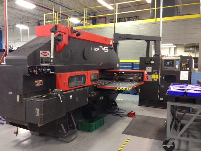 Amada-Vipros-345-Queen-33-Ton-CNC-Turret-Punch-Press