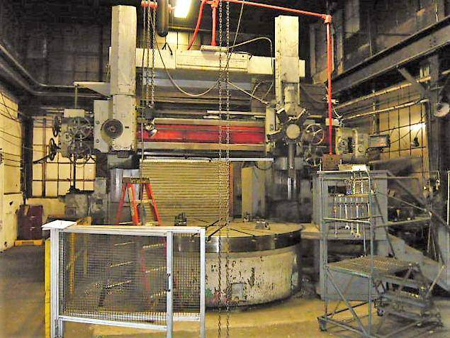Webster-&-Bennett-DCH-108-Vertical-Boring-Mill-With-Elevating-Rail