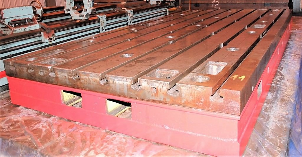 (15)-78-x-157-x-16.5-T-Slotted-Cast-Iron-Floor-Plates