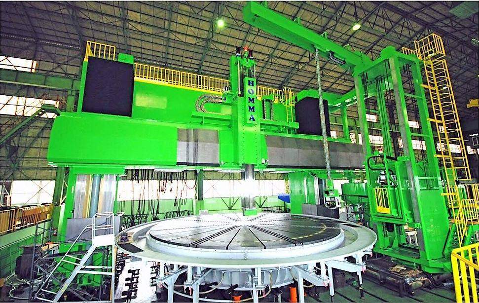 314-Homma-HM-8.0-10.0GTN-Double-Column-Ram-Type-CNC-Vertical-Boring-Mill