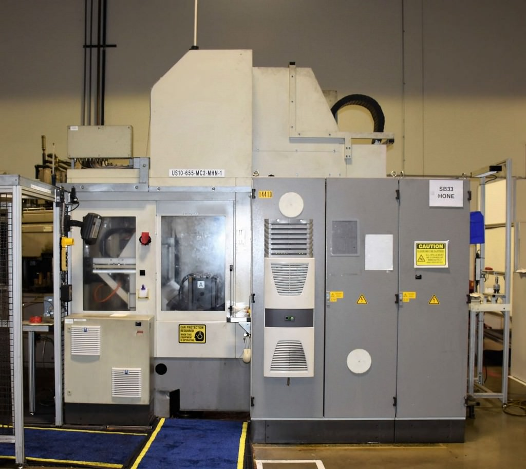 MATEC-30SD-Double-Spindle-CNC-Vertical-Machining-Center-w-Washer