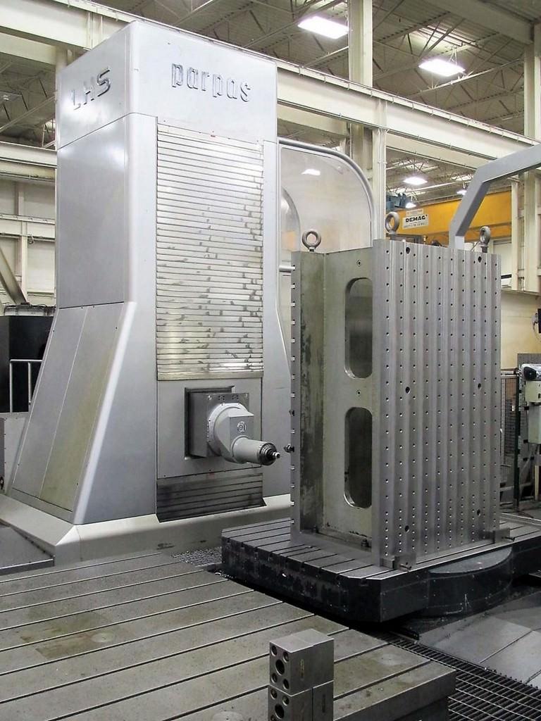 PARPAS-LHS-5-Axis-Ram-Type-CNC-Travelling-Column-Horizontal-Boring-Mill
