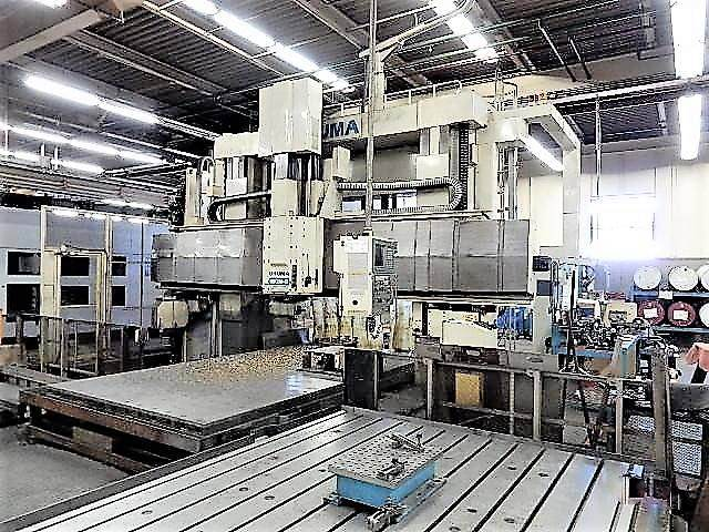 OKUMA-MCM-B-5-Face-CNC-Double-Column-Machining-Center
