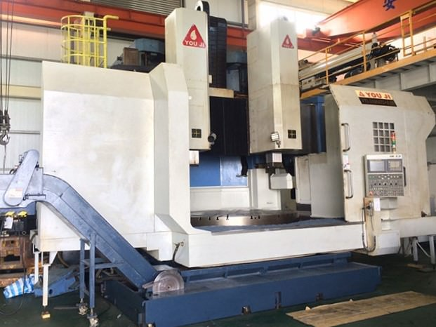 YOU-JI-2500ATC+C+G-CNC-Vertical-Boring-Mill-w-Milling