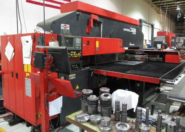 Amada-Vipros-King-368-II-33-Ton-CNC-Turret-Punch-Press