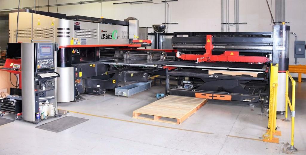 Amada-LC2012-C1NT-22-Ton-CNC-Turret-Punch-&-2500-Watt-Laser-Combo