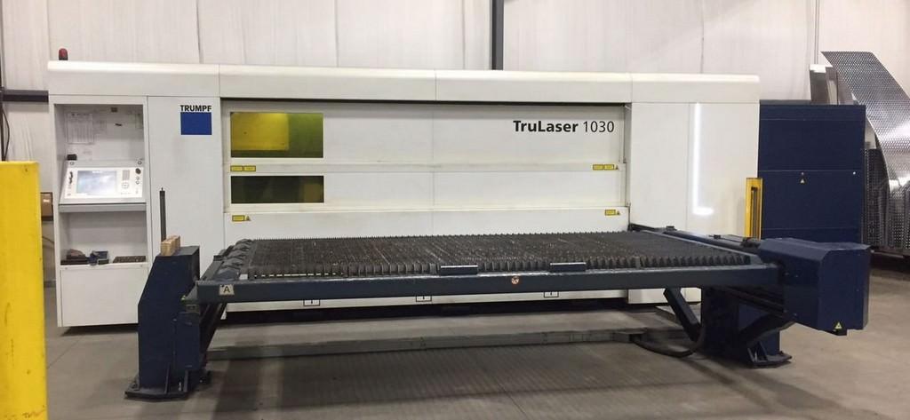 Trumpf-2000-Watt-TruLaser-1030-Fiber-CNC-Laser