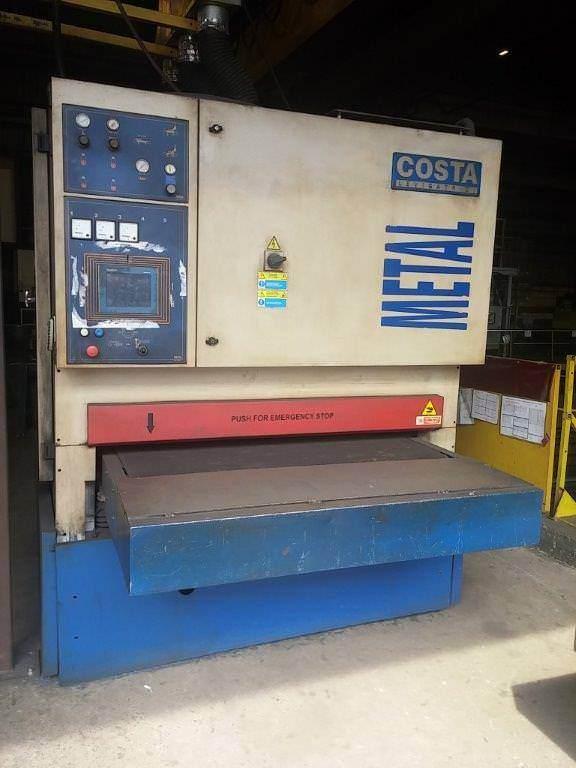 COSTA-ML-CTV-1350-Dry-Deburring-Machine-w-3-Stage-Sander