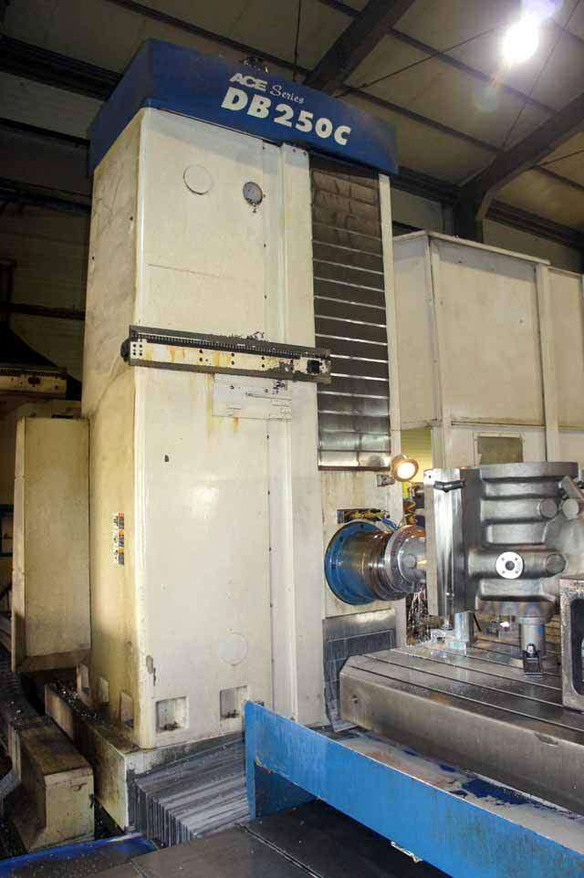 Daewoo-ACE-DB250C-CNC-Table-Type-Horizontal-Boring-Mill