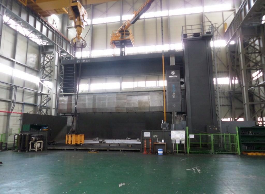 354-Hankook-VTB-90-120E-CNC-Vertical-Boring-Mill-w-Milling