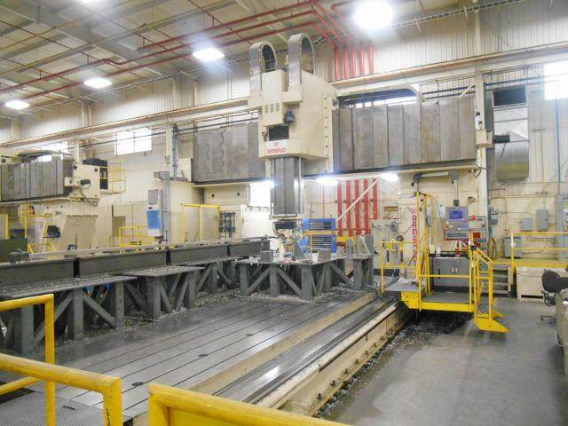 RAMBAUDI-5-Axis-CNC-Vertical-Gantry-Mill