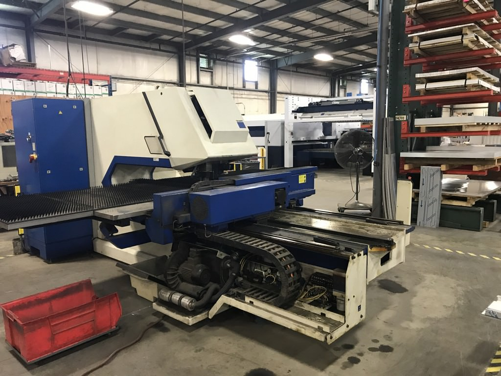TRUMPF-TC2000R-22-Ton-CNC-Punch-&-Contouring-Machine