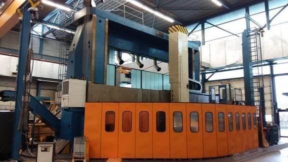 CKD-Blansko-SKD-63-65D-248-Double-Column-Ram-Type-CNC-Vertical-Boring-Mill