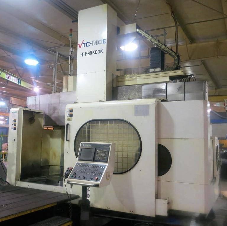 Hankook-VTC-140E-55-CNC-Vertical-Turning-Center
