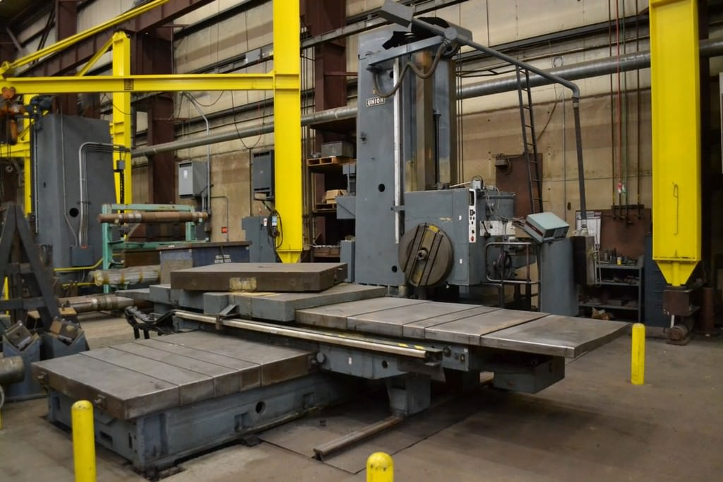 Union-BFT-125-5-5.12-Table-Type-Horizontal-Boring-Mill