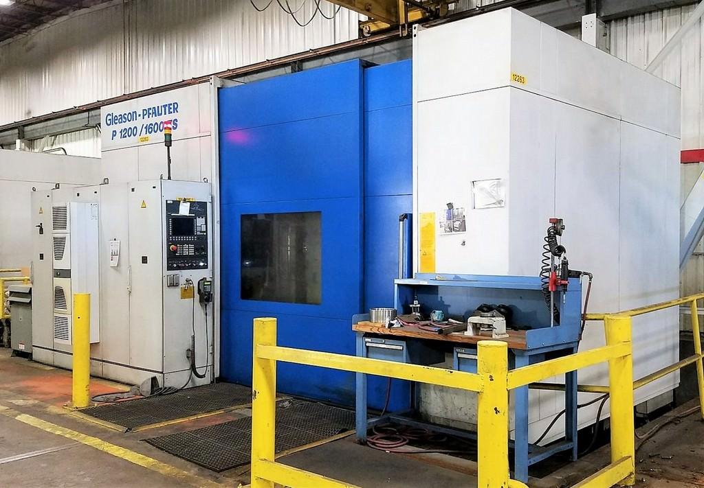 GLEASON-PFAUTER-P1200-1600ES-CNC-Gear-Shaper