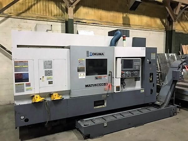 OKUMA-Multus-B300-W-Multi-Axis-CNC-Turning-&-Milling-Center
