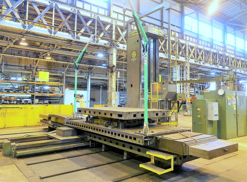 7-Giddings-&-Lewis-G70-T-CNC-Table-Type-Horizontal-Boring-Mill