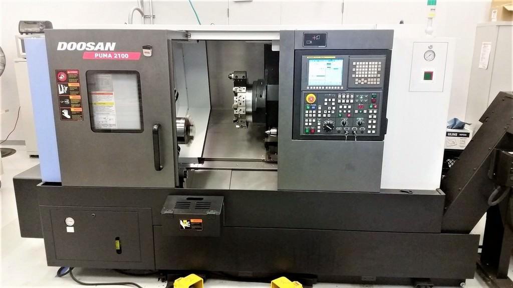 DOOSAN-PUMA-2100-CNC-Slant-Bed-CNC-Lathe