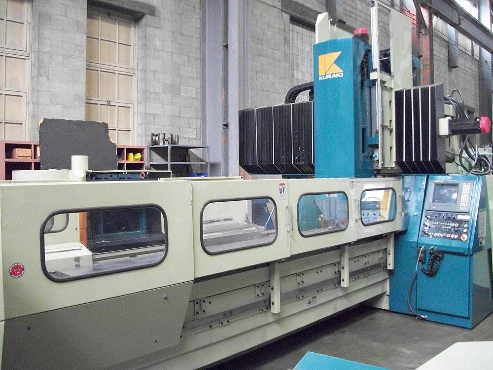 KURAKI-KMV-130-CNC-Double-Column-Machining-Center