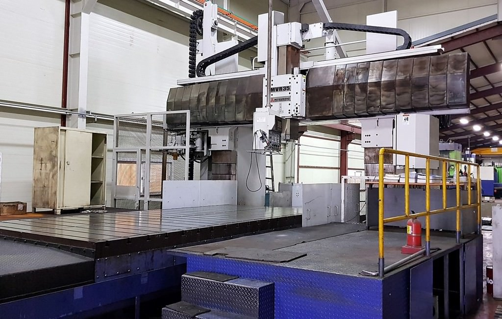 Mitsubishi-MVR-35-5-Face-CNC-Vertical-Milling-Machine