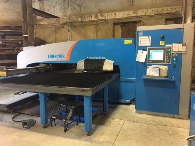 Finn-Power-E5x-25-Ton-CNC-Turret-Punch-Press