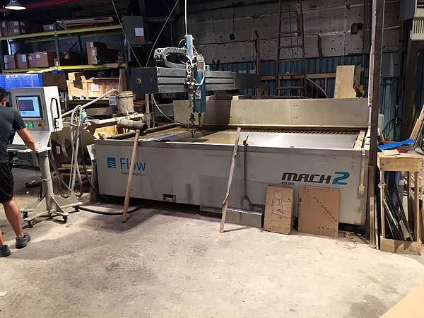 Flow-Mach-2-2030b-66-x-10-CNC-Water-Jet-Cutting-System