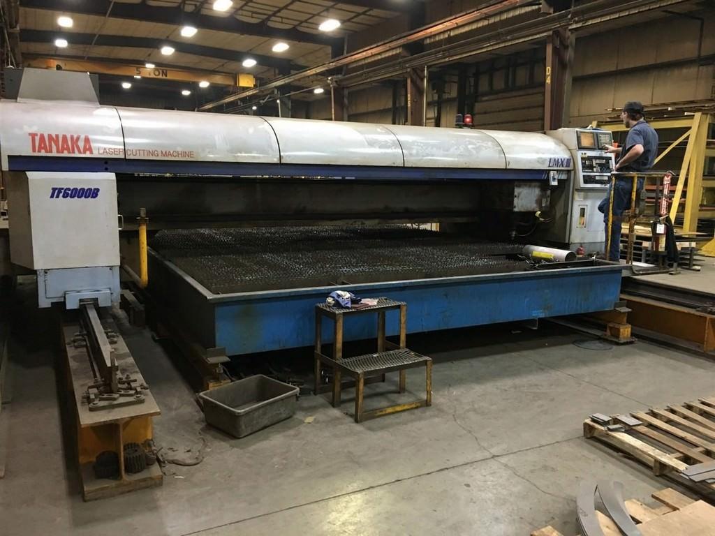 Tanaka-6000-Watt-LMX-III-TF6000B-CNC-Laser-Cutting-System