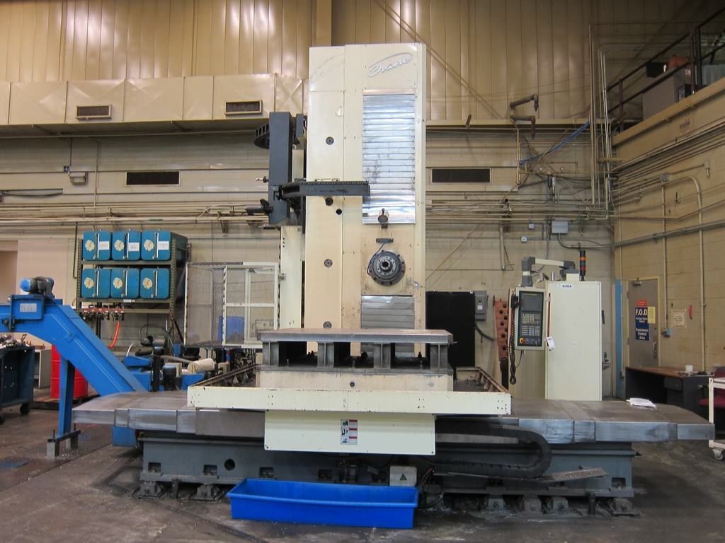 Crane-THK-6511-4.33-CNC-Table-Type-Horizontal-Boring-Mill