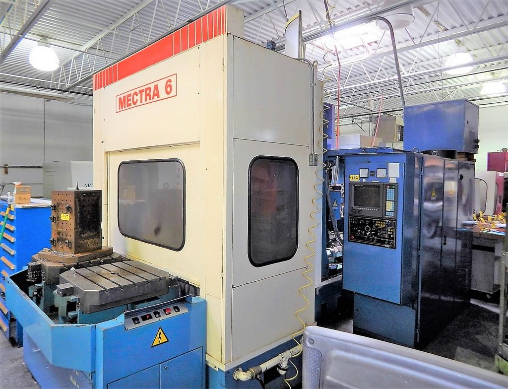 MANDELLI-Mectra-MF6-4-Axis-CNC-Horizontal-Machining-Center
