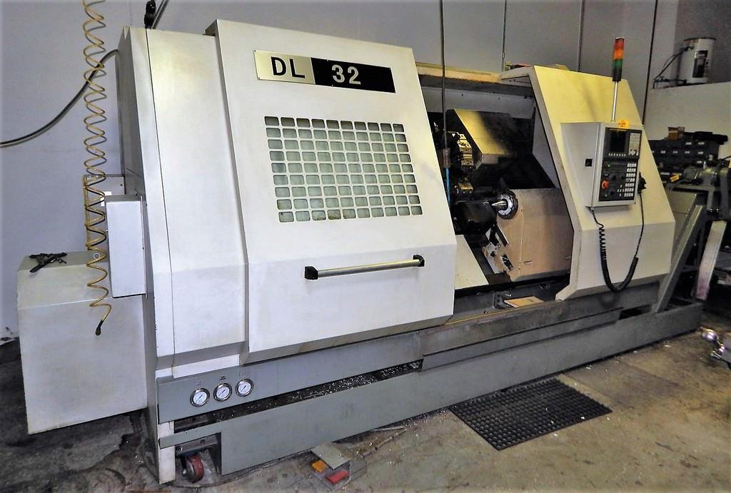 DMTG-DALIAN-DL-32-CNC-Lathe