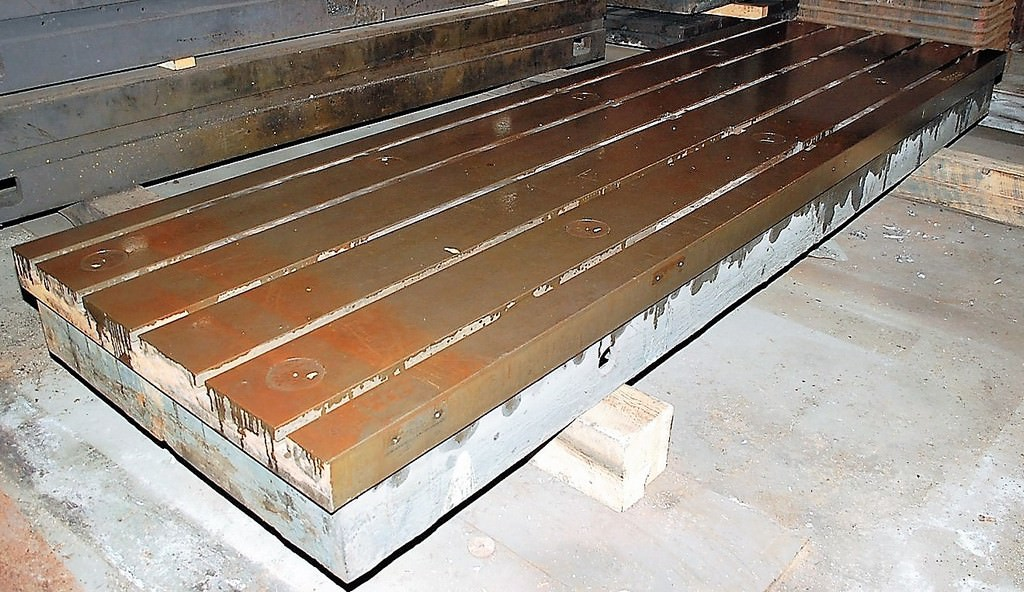 (1)-155-x-78.5-T-Slotted-Cast-Iron-Floor-Plate