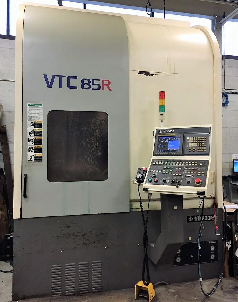 Hankook-VTC-85R-23-CNC-Vertical-Turning-Milling-Center