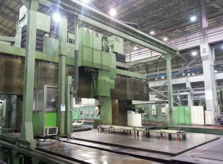 Schiess-Froriep-63-FZG-Travelling-Gantry-Milling-&-Vertical-Turning-Center