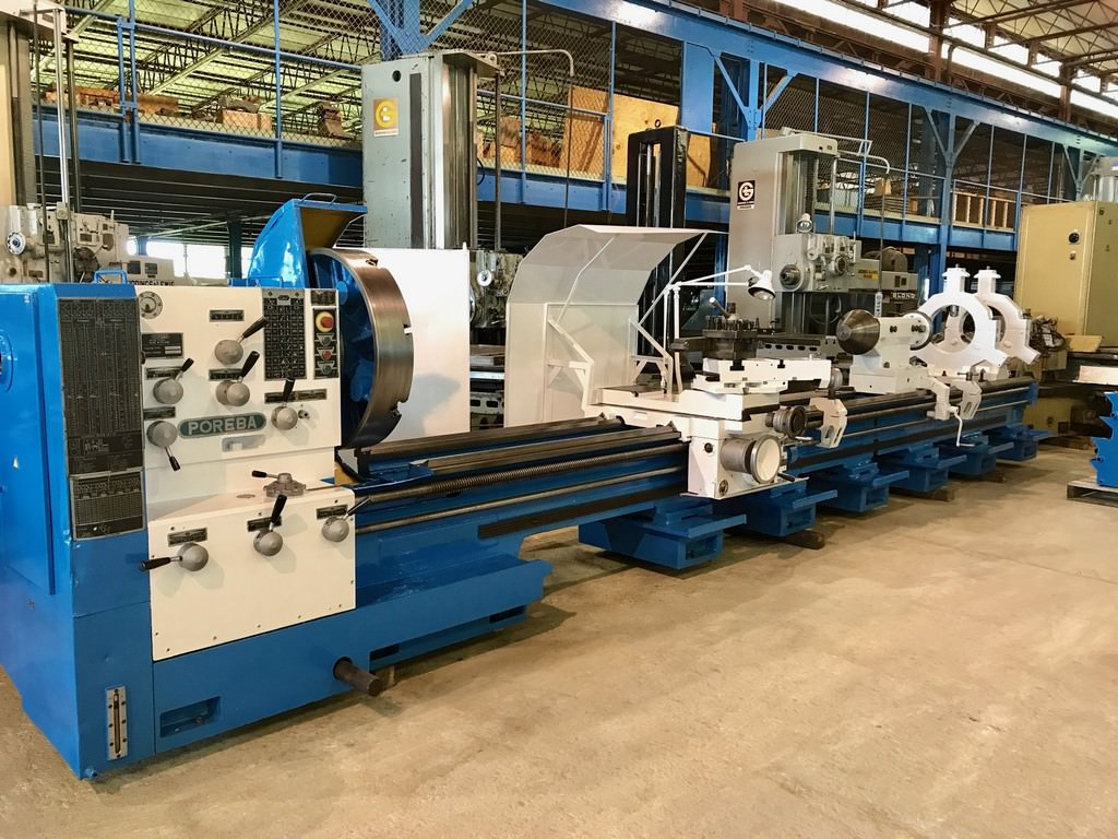 36-x-240-Poreba-Model-TPKA1-6M-Engine-Lathe