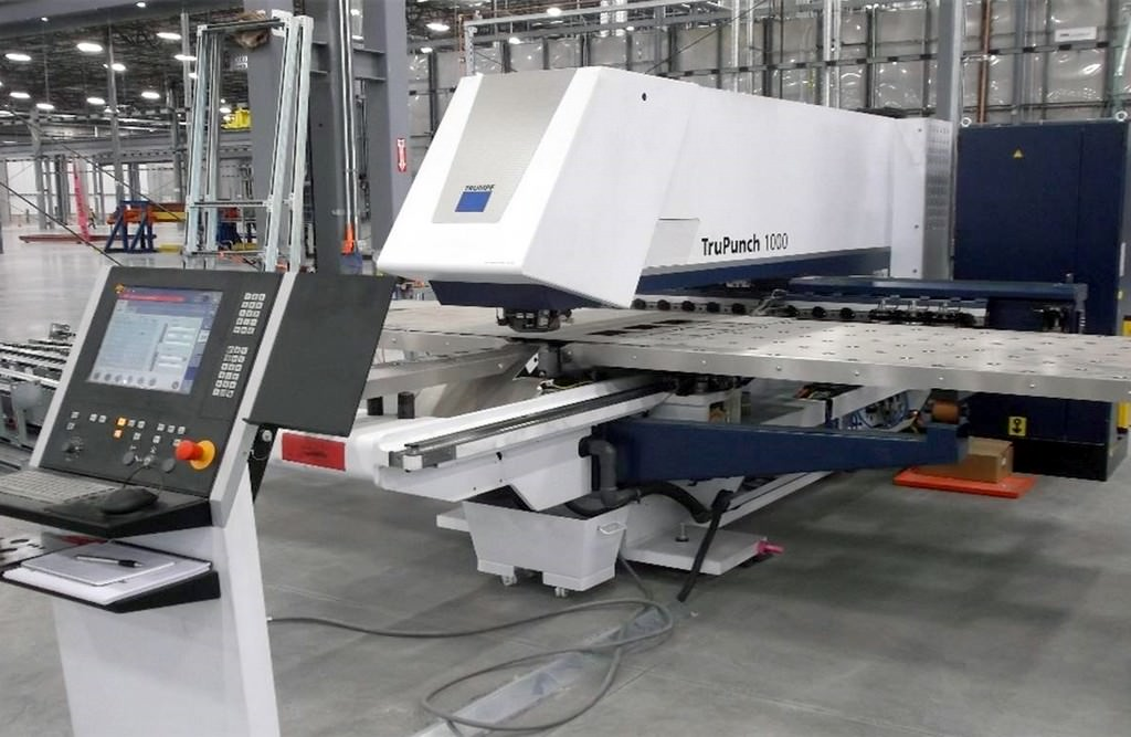 TRUMPF-TruPunch-1000-19-Ton-CNC-Punch-&-Contouring-Machine